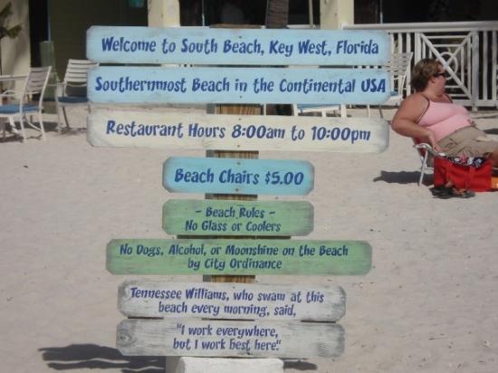 คีย์เวสต์, ฟลอริด้า: Proof I was there...at the southernmost beach.