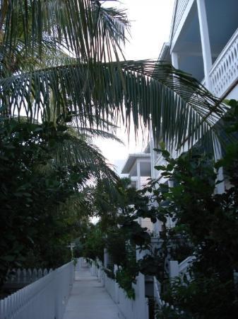 """คีย์เวสต์, ฟลอริด้า: Lane to our """"home"""" in Key West."""