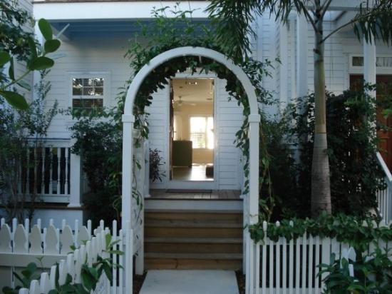 คีย์เวสต์, ฟลอริด้า: Door to our condo at Parrot Key.