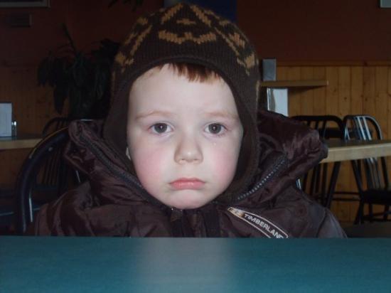 แจสเปอร์, แคนาดา: A very, very sad Graham, in Jasper.