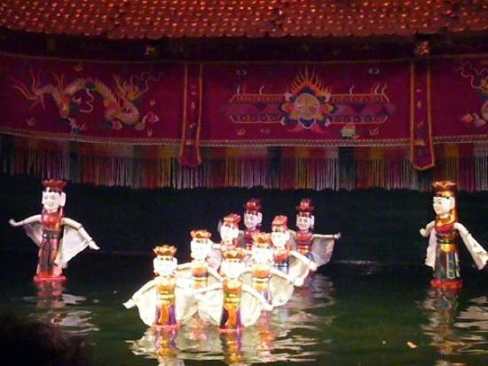 ฮานอย, เวียดนาม: Water Puppetry, Hanoi