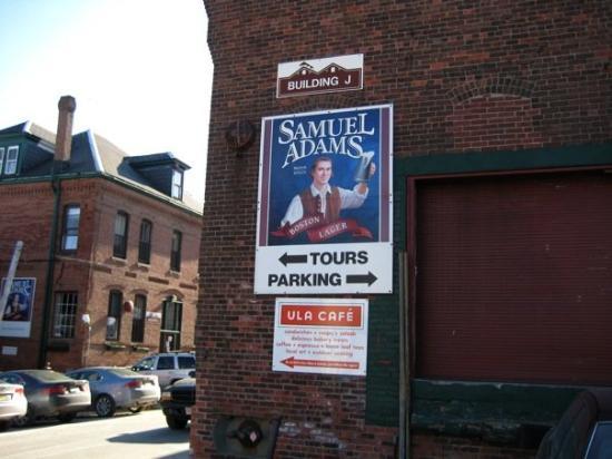 บอสตัน, แมสซาชูเซตส์: Sam Adams brewery tour