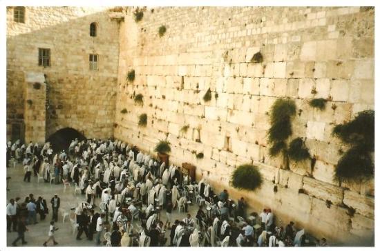 เยรูซาเล็ม, อิสราเอล: israele 2007 - gerusalemme : muro del pianto