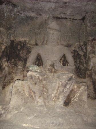 Ellora, อินเดีย: Buddha