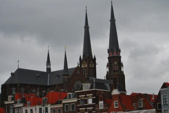 Delft, The Netherlands: churches