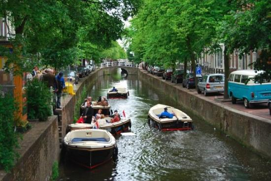 Delft, The Netherlands: Canal ride