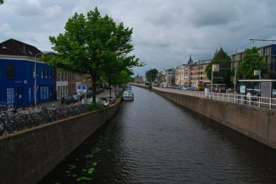 Delft, The Netherlands: Canal view