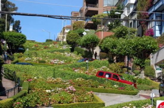 Lombard Street ภาพถ่าย