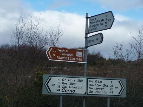 กัลเวย์, ไอร์แลนด์: That really clears things up.