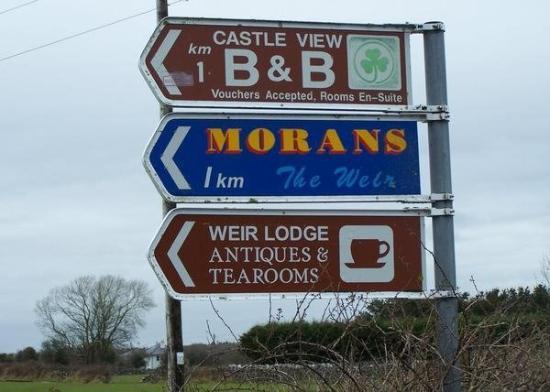 กัลเวย์, ไอร์แลนด์: Moran's Oyster Cottage in Kilcolgan, Co. Galway is renowned for its exceptional seafood.