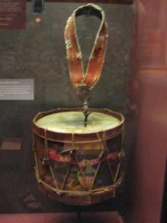 อุทยานทหารแห่งชาติเกตตีสเบิร์ก: old battle drum