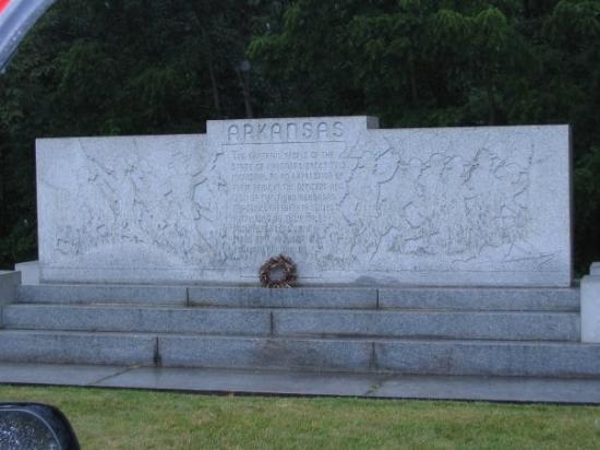 เก็ตตีสบูร์ก, เพนซิลเวเนีย: Arkansas Memorial