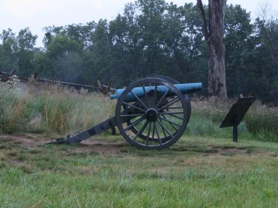 เก็ตตีสบูร์ก, เพนซิลเวเนีย: cannon