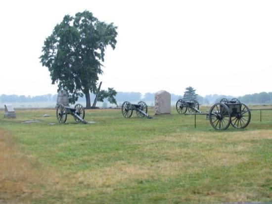 เก็ตตีสบูร์ก, เพนซิลเวเนีย: Cannons