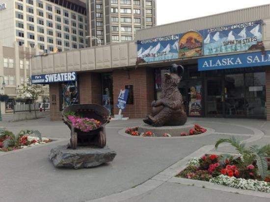แองเคอเรจ, อลาสกา: Una tienda clasica de suvenirs