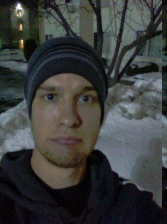 โคลัมบัส, โอไฮโอ: First night in Ohio. Snow, snow, snow.