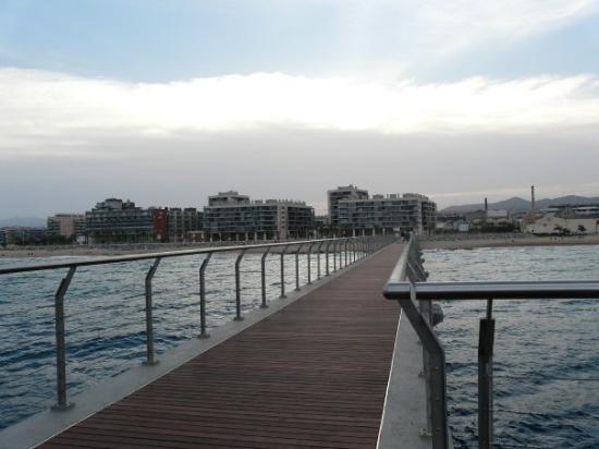 Badalona, สเปน: 16-6-09 Pont del Petroli