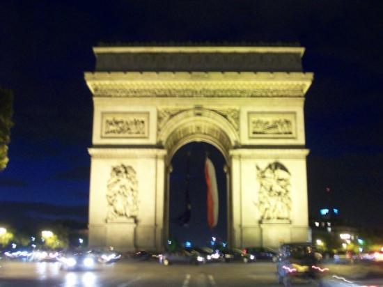 ประตูชัย: Arc de Triomphe