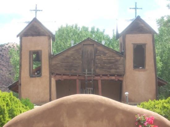 ซานตาเฟ, นิวเม็กซิโก: sanctuario at chamayo, near espanola & taos, n.m.
