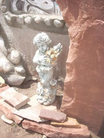 ซานตาเฟ, นิวเม็กซิโก: cupid in ruins, chamayo, n.m.