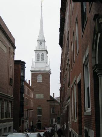 บอสตัน, แมสซาชูเซตส์: old north church