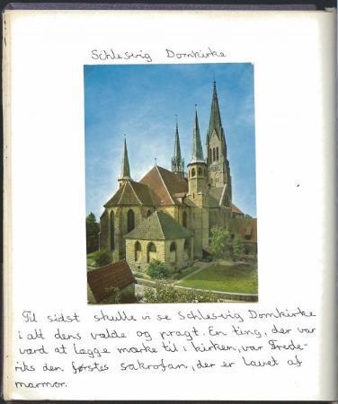 St. Peter's Cathedral (Dom): Schlesvig Domkirke. Læg mærke til min skrift og omtale. Ren historie fra virkelighedens verden.