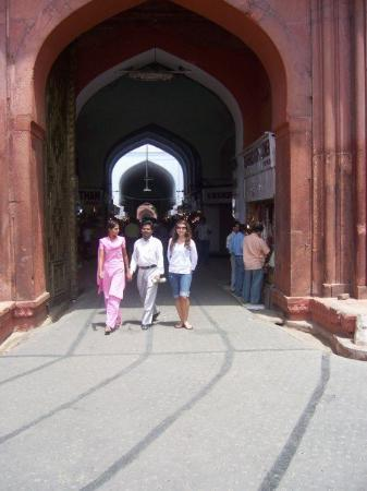 Red Fort (Lal Quila): Entrance to the Fort