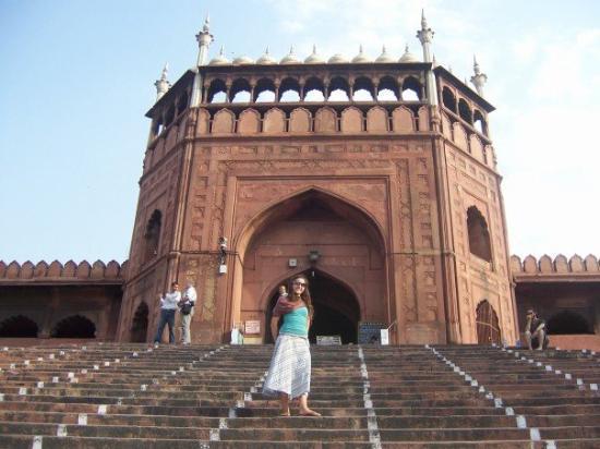 Friday Mosque (Jama Masjid): Jama Masjid - the principal mosque of Old Delhi.