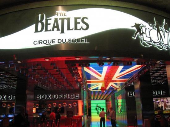 """The Beatles - Love - Cirque du Soleil: Inside the Mirage, The Beatles """"Love"""" cirque de soleil box office, Las Vegas"""