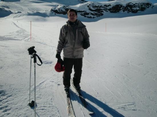 เซอร์แมท, สวิตเซอร์แลนด์: Me giving instructions on how to operate the camera.