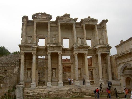 หอสมุดเซลซัส: Ephesus ancient library