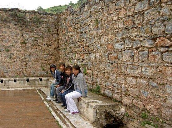 ซีลกัค , ตุรกี: ancient toilet;