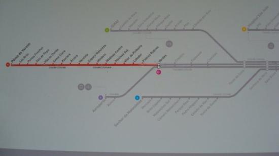 Povoa de Varzim, โปรตุเกส: Train Map, last stop on the B Train