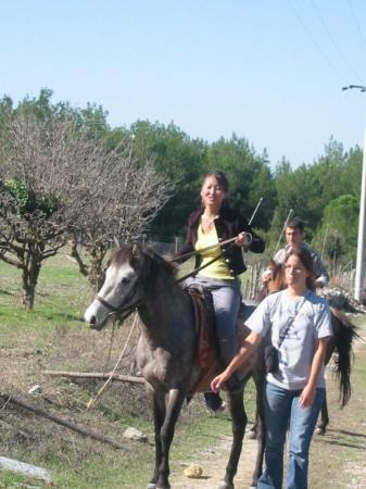 ซีลกัค , ตุรกี: This was my first ride (horse) in Turkey, I understood how I missed to ride a horse then.