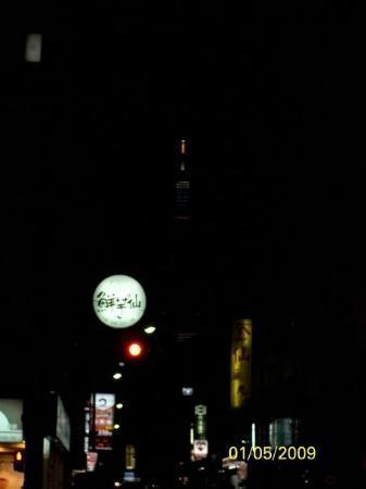 ไทเป, ไต้หวัน: 頂有一點光的建築物是101大樓