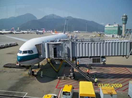 ไทเป, ไต้หวัน: 我們所乘坐的飛機