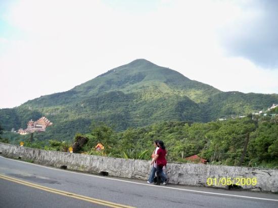 ไทเป, ไต้หวัน: 九份的山