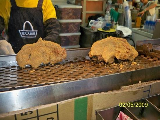 ไทเป, ไต้หวัน: 炸好的雞排