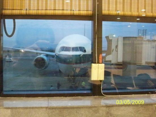 ไทเป, ไต้หวัน: 我們乘坐的飛機