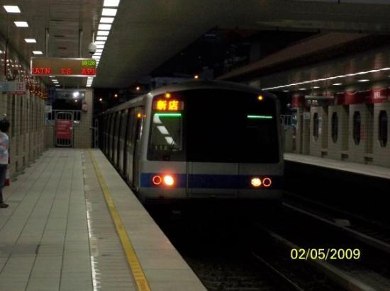 ไทเป, ไต้หวัน: 捷運列車