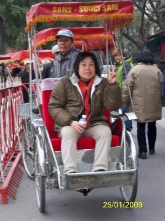 ฮานอย, เวียดนาม: 乘坐三輪車遊36古街