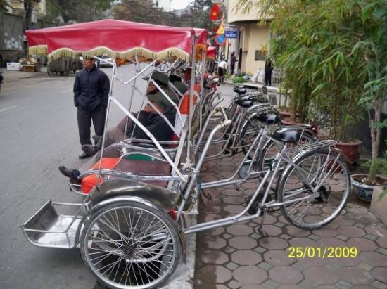 ฮานอย, เวียดนาม: 河內的三輪車