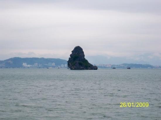 ฮาลองเบย์, เวียดนาม: 是否像一隻海師呢?