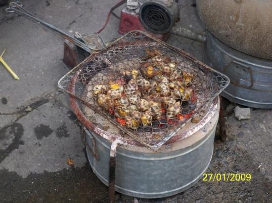 ฮานอย, เวียดนาม: 燒東風螺,盛惠220,000越南盾