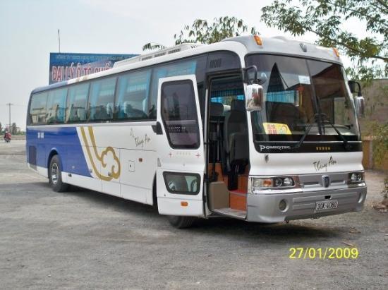 ฮานอย, เวียดนาม: 我們乘坐的旅遊車