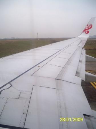 ฮานอย, เวียดนาม: 在機上所拍攝到的影像