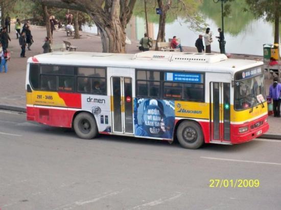 ฮานอย, เวียดนาม: 河內的巴士