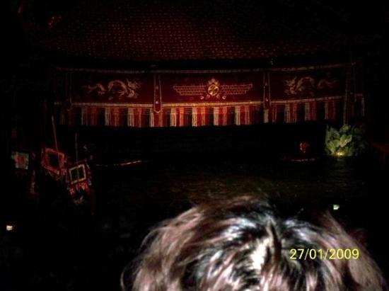 ฮานอย, เวียดนาม: 水上木偶表演進行中