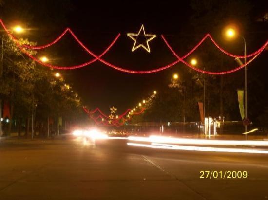ฮานอย, เวียดนาม: 越南國旗中的一粒星燈飾