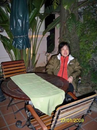 ฮานอย, เวียดนาม: 吃晚餐的餐廳內